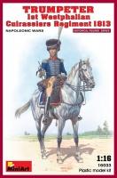 Trumpeter - 1st Westphalian Cuirassiers Regiment - 1813 - Napoleonic Wars - 1:16