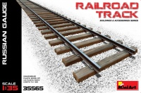 Railroad Track - Russian Gauge - 1/35