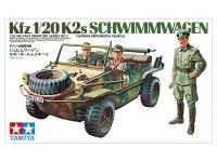 Schwimmwagen - Kfz. 1 / 20 K2s - German Amphibious Vehicle - 1/35