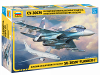 Su-30SM - Flanker C - Russian Air Superiority Fighter - 1:72
