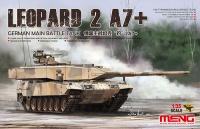 Leopard 2A7+ - German Main Battle Tank - 1:35