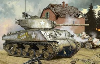 M4A3 (76)W Sherman - US Medium Tank - 1:35