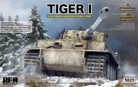 Tiger I Ausf. E - Early Production with Full Interior and Clear Parts - 1/35