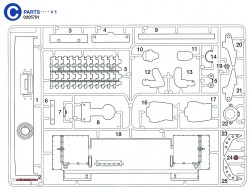 C Parts (C1-C25) for Tamiya Tiger I (56010) 1:16