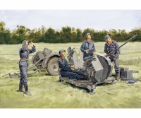 2cm FlaK 38 mit Sd.Ah. 51 & Flak Crew - 1:35