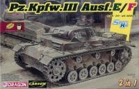 Panzerkampfwagen III Ausf. E / F - 2in1 - 1:35