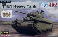 US Heavy Tank T1E1 - 3in1 - Black Label - 1:35