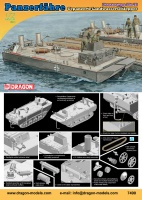 Panzerfähre - Gepanzerter Landwasserschlepper - Prototyp Nr. II - 1:72