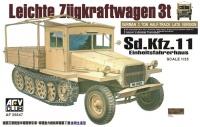Sd.Kfz. 11 - Late Version with Einheitsfahrerhaus - 1/35