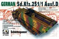 Sd.Kfz. 251/1 Ausf. D - Schützenpanzer - 1/35