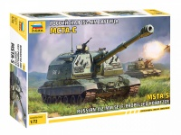MSTA-S - Russian 152mm Self-Propelled Howitzer - 1/72