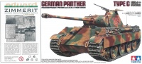 Panther Ausf. G - Frühe Version - Sd.Kfz. 171 inkl. Eduard Zimmerit-Bogen - 1:35