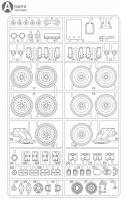 A Parts (A1-A37) for Tamiya M551 Sheridan (56043) - 1/16