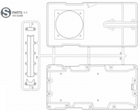 S Parts (S1-S5) for Tamiya M551 Sheridan (56043) - 1/16