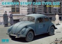 German Staff Car Type 82E - mit Inneneinrichtung - 1:35