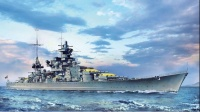 Scharnhorst - German Battleship - 1940 - 1/350
