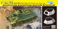 T-34/76 - Model 1942 with Hexagonal Turret - 1:35