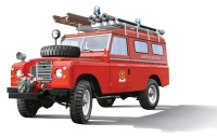 Land Rover - Fire Truck / Feuerwehr - 1:24