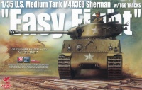 M4A3E8 Sherman - Easy Eight - US Medium Tank with T-66 Tracks - 1:35