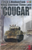 Cougar - M4A3 Sherman 75mm - late Production - US Medium Tank - 1:35