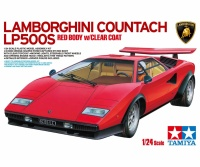 Lamborghini Countach LP500S - mit rot vorlackierter Karosserie - 1:24