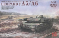 Leopard 2A5 / A6 - 3in1 - German Main Battle Tank - 1:35
