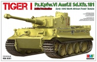 Panzerkampfwagen Tiger I Ausf. E - Initial Production - Early 1943 - North Africa / Tunisia - 1:35