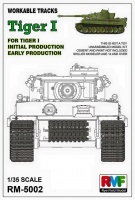 Workable Track Links for Tiger I Ausf. E - Initial / Eary Version - 1/35
