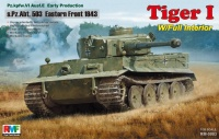 Panzerkampfwagen Tiger Ausf. E - Early Production - sPzAbt. 503 - Eastern Front 1943 - 1/35