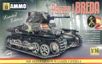 Panzerkampfwagen I Ausf. A - Breda - Spanischer Bürgerkrieg - Limited Edition - 1:16