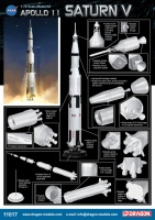 Apollo 11 Saturn V - 1:72