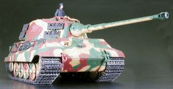 King Tiger Production Turret - RC Full Option Kit - 1/16