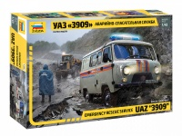 UAZ 3909 - Emergency Rescue - 1/43