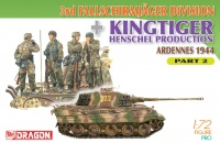 3rd Fallschirmjäger Division + Kingtiger Henschel Production - Ardennes 1944 - Part 2 - 1/72