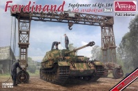 Ferdinand - Sd.Kfz. 184 with full Interior & 16t Strabokran - 2in1 - 1/35