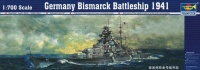 Bismarck - German Kriegsmarine Battleship - 1/700