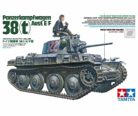Panzerkampfwagen 38(t) Ausf. E / F - German light Tank - 1/35
