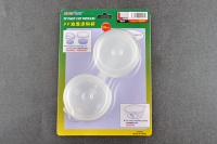PP Paint Cup with Lid - Size L - 56ml - 8 pcs.