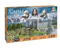 Castle under siege / Belagerung einer Burg - 100 Jähriger Krieg - Set - 1:72