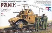 P204 (f) - German Armored Railway Vehicle - 1:35