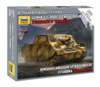 Sturmpanzer IV - Brummbär - schweres Sturmgeschütz - 1:100