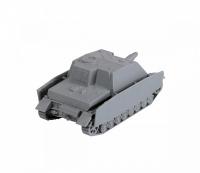 Sturmpanzer IV - Brummbär - German self propelled Artillery - 1/100