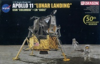 Apollo 11 - Lunar Landing - CSM Columbia + LM Eagle - 1/72