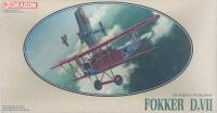 Fokker D. VII - Knights of the Sky - Vintage - 1/48