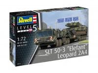 SLT 50-3 - Elefant + Leopard 2A4 - 1:72