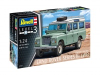 Land Rover Series III LWB - Station Wagon - 1/24