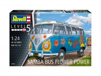 VW Samba T1 - Flower Power - 1:24