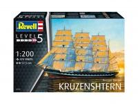 Russian Barque KRUZENSHTERN - 1/200