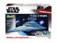 Imperial Star Destroyer - Revell Technik - 1/2700