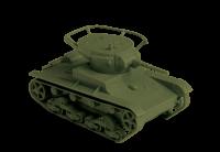 T-26 Model 1933 - Soviet Light Tank - 1/100